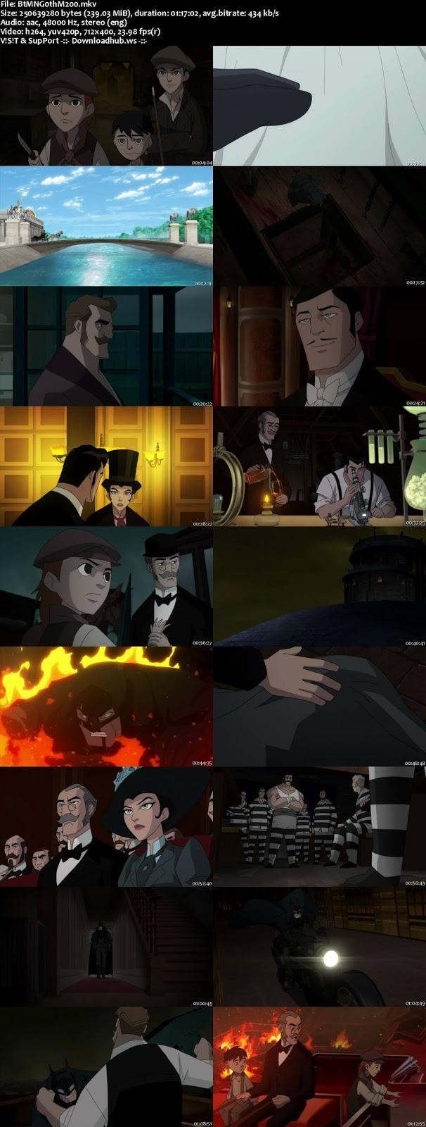 Batman Gotham by Gaslight 2018 English 480p Web-DL