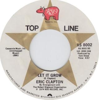 Let it grow en la cara B del single I shot the sheriff de Eric Clapton