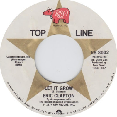 Let it grow en la cara B del single I shot the sheriff de Eric Clapton
