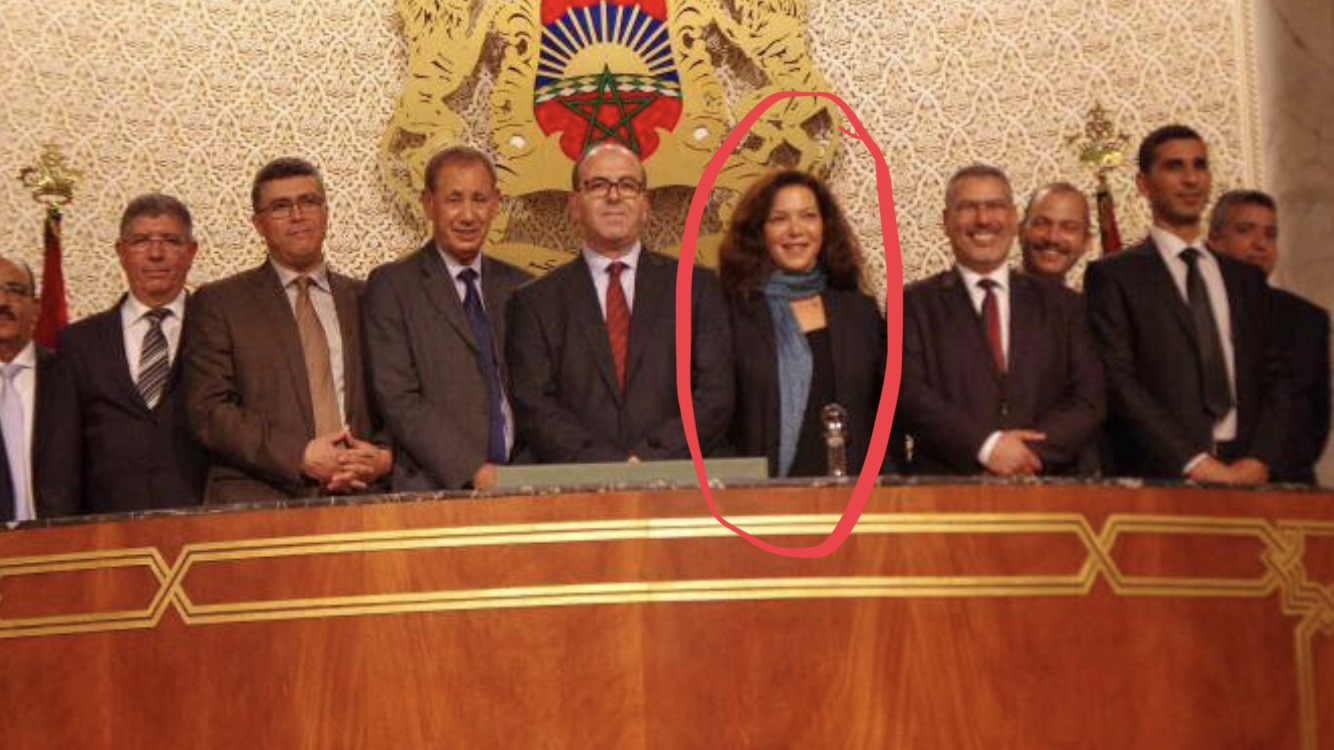 طرد نايلة التازي من مكتبها بمجلس المستشارين و تغيير أقفاله !