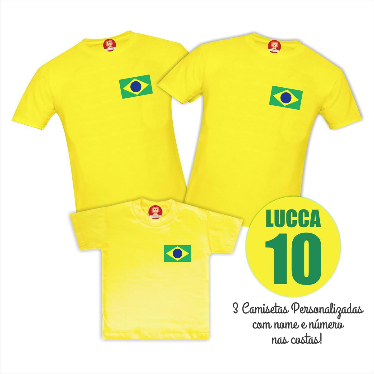 f4b5134c3b Imaginário Roupas Personalizadas  Camiseta Personalizada Copa do Mundo