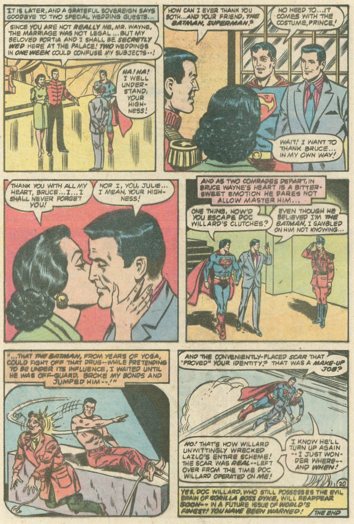 Read online World's Finest Comics comic -  Issue #253 - 23