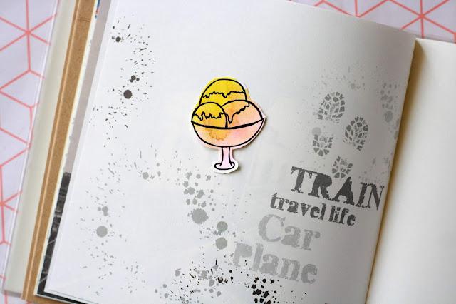 Sticker Eis malen