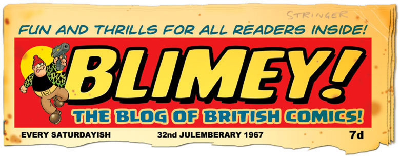 BLIMEY! The Blog of British Comics
