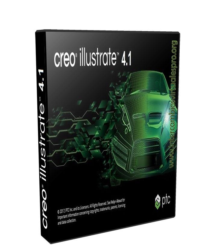PTC Creo Illustrate 4.1 F000 poster box cover
