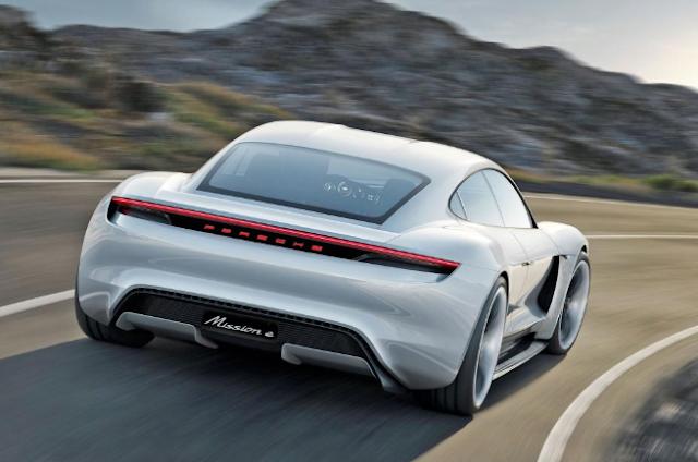 2020 Porsche Taycan Hybrid specs