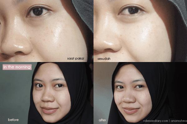 Review Elsheskin Glowing Facial Peeling