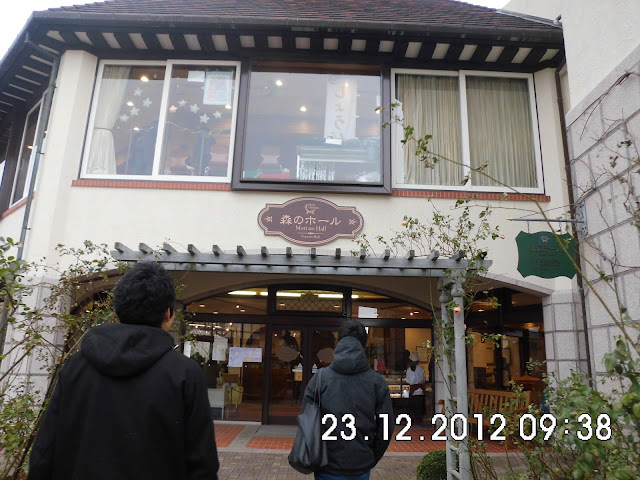 Bangunan Klasik Eropa di Herb Garden Kobe