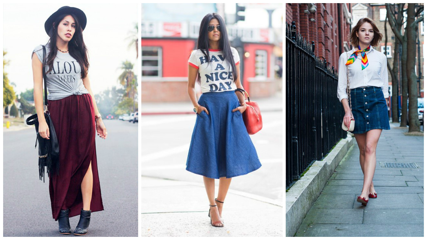 11 ways to wear skirts this season