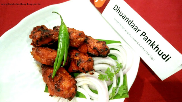 Dhuandaar Pankhudi @ The Hot N Juicy Kebab Festival @ Paradise | Bangalore