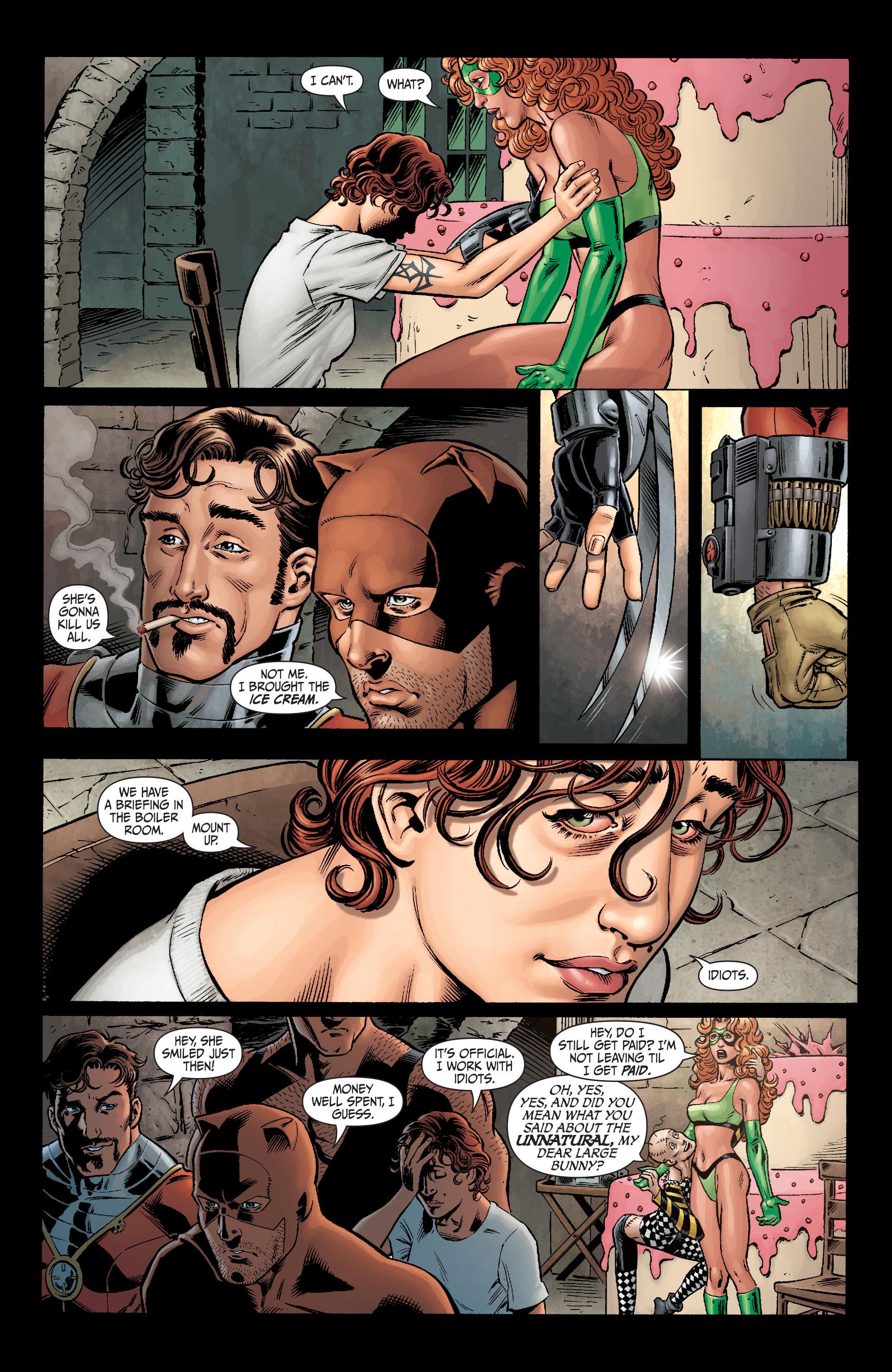 Read online Secret Six (2008) comic -  Issue #1 - 20