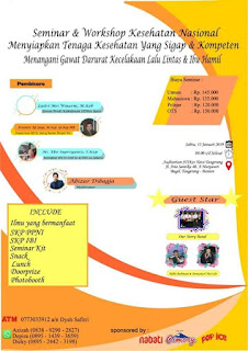 Seminar dan Workshop Kesehatan Kegawatdaruratan STIKES YATSI Tangerang