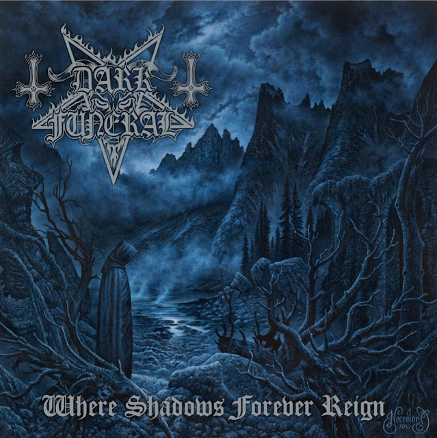 "Dark Funeral – announce release date for new album ""Where Shadows Forever Reign"" & reveal album cover!"