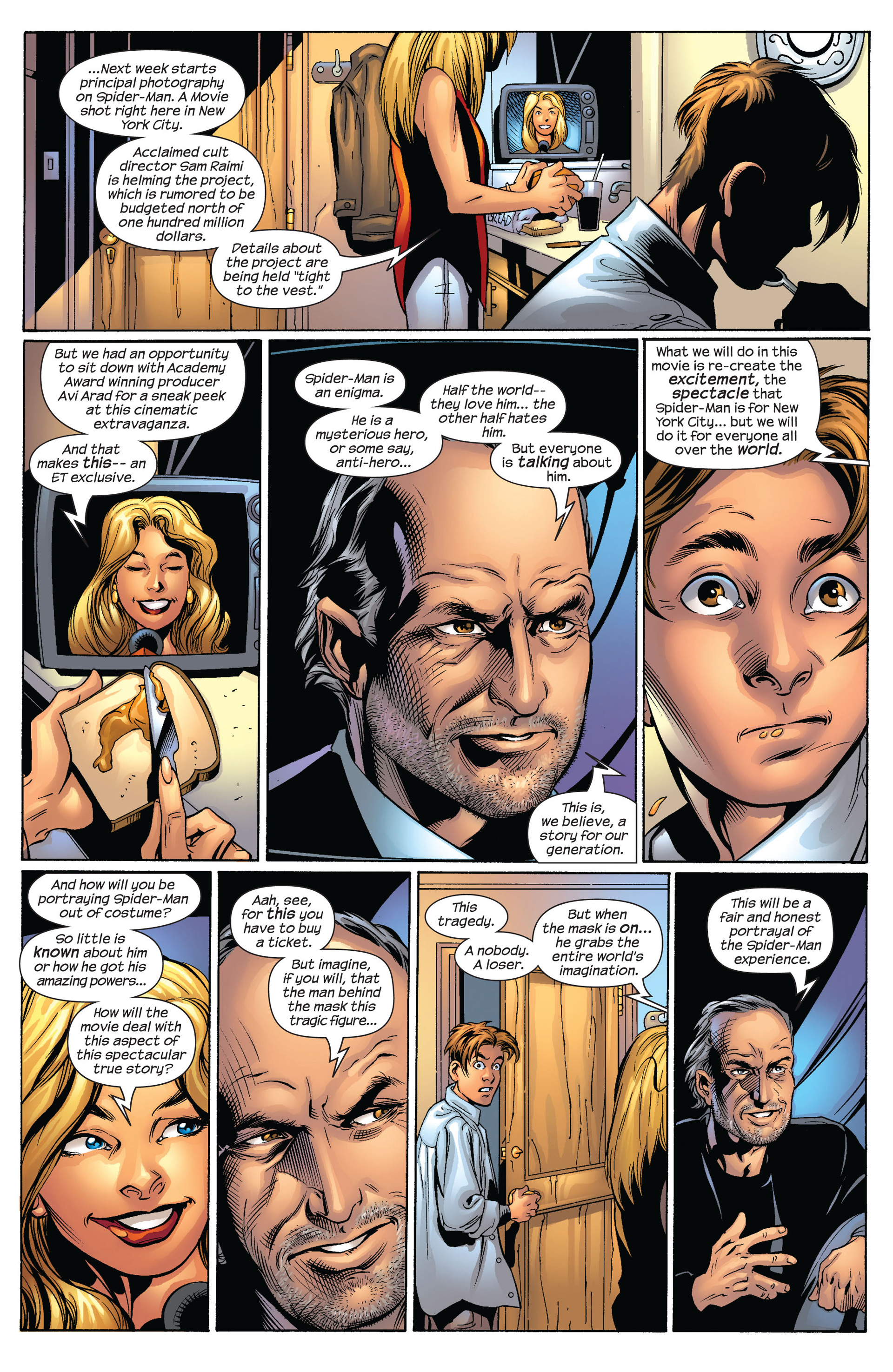 Read online Ultimate Spider-Man (2000) comic -  Issue #54 - 7