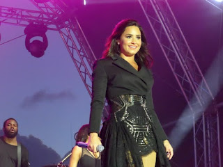 Demi Lovato New Year's Eve Performance for Celebrity Cruises in St. Maarten