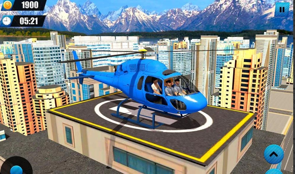 Heights of Fun with Helicopter Taxi