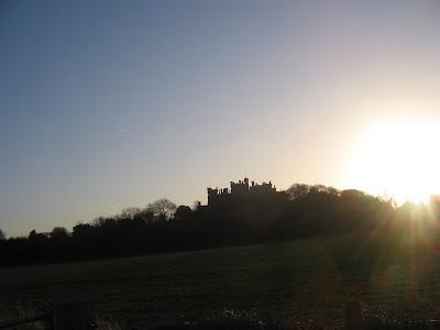 Belvoir castle from Woolsthorpe - by: © Paul c Walton
