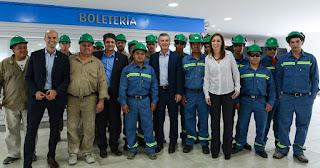 Macri presentó las obras de remodelación de la estación Aristóbulo del Valle