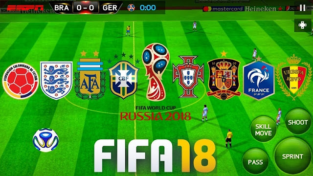 Download FIFA 18 MOD FIFA 14 Offline World Cup Russia 2018 Android