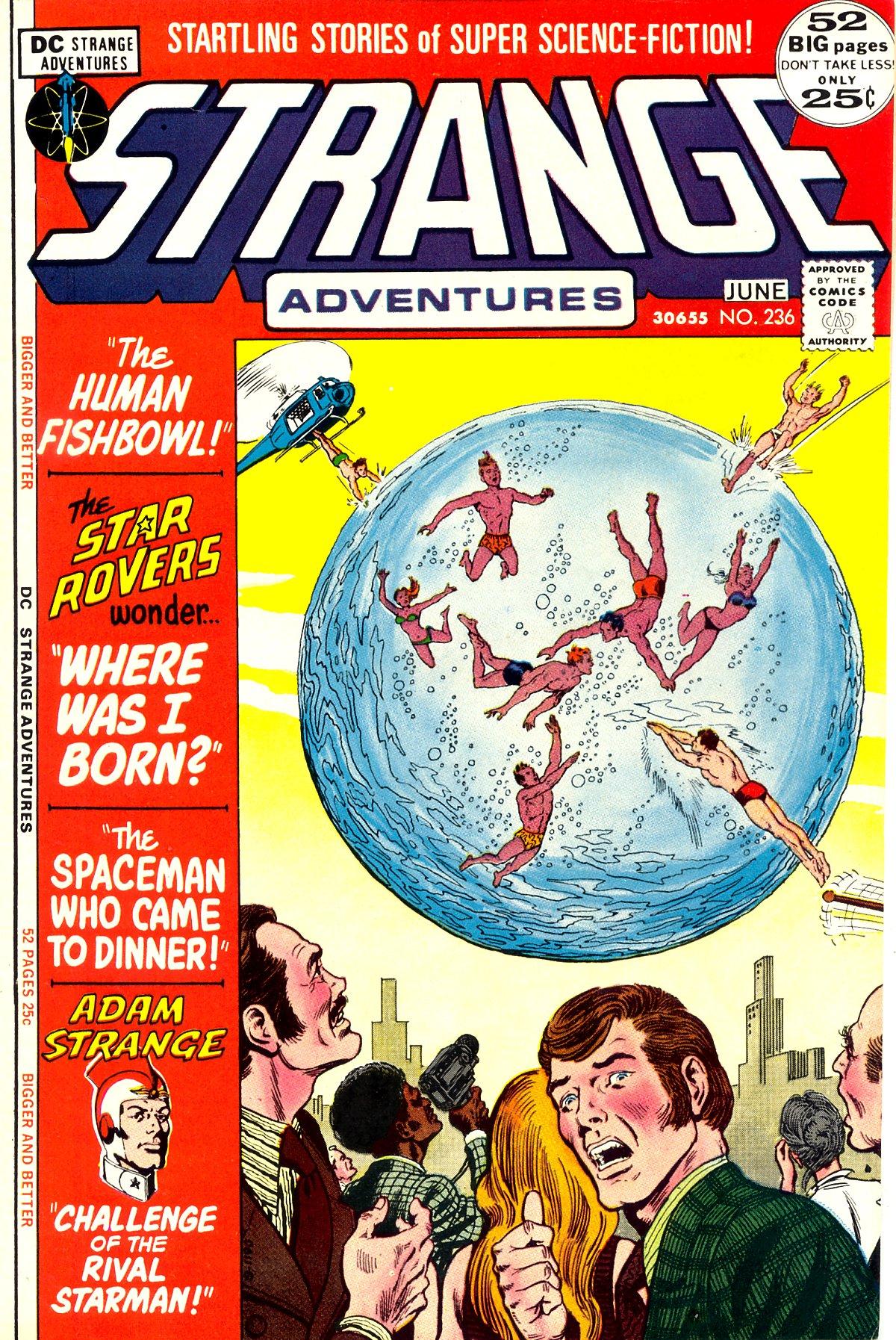 Strange Adventures (1950) issue 236 - Page 1