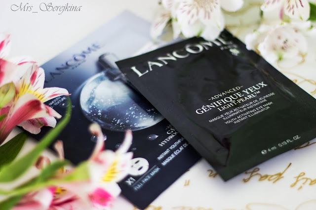 Гидрогелевые маски Lancome Advanced Génifique