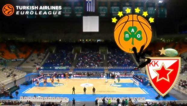 ΠΑΝΑΘΗΝΑΪΚΟΣ - ΕΡΥΘΡΟΣ ΑΣΤΕΡΑΣ   Panathinaikos vs Crvena Zvezda live streaming