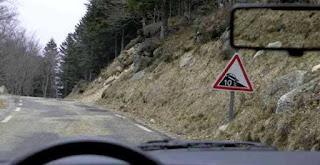 طريق به منحدرات