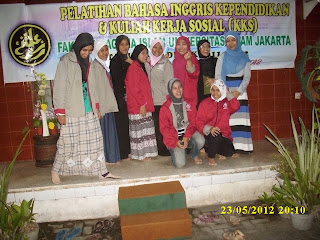 farewell party peserta Kursus di VOC kampung inggris pare kediri