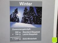 Winter: 4-Jahreszeiten 135x200cm Ganzjahres Bettdecke Steppdecke Steppbett Microfaser mit Druckknöpfen