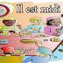 نشيد الاطفال باللغة الفرنسية ( Il est midi )