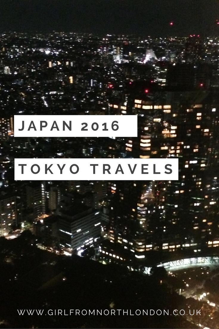 Japan 2016 tokyo travels