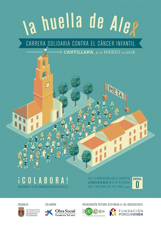 CARRERA SOLIDARIA CONTRA EL CANCER INFANTIL
