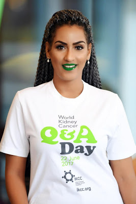 Juliet Ibrahim Is The Global Ambassador For The First-Ever World Kidney Day
