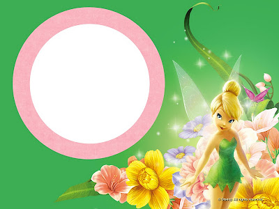 Tinkerbell free printable invitations oh my fiesta in english for tinkerbell party invitations cards backgrounds or labels stopboris Choice Image