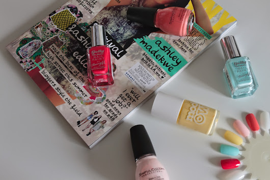 Guest post: Summer nail polishes!