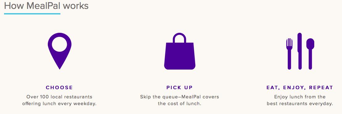 MealPal App Screenshot