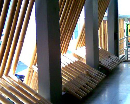 Tinuku.com Sahabat Bambu studio processing bamboo as high-quality products and strong as steel for building materials