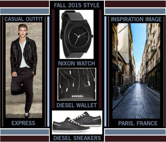 Run Away With Me - Fall 2015 Men's Casual Style www.toyastales.blogspot.com #ToyasTales