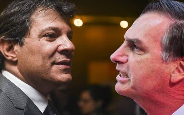 Bolsonaro x Haddad: Presidente do Ibope revela que vitória do (PSL) é certa (Imagem: Reprodução/Internet)