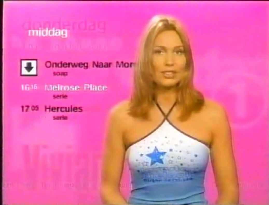 nederlandse tv omroepsters  vivian slingerland omroepster