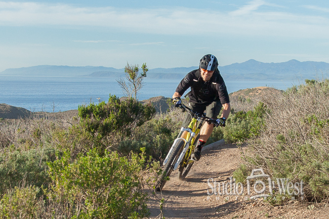 lifestyle photography - website non-traditional business portrait - Montana de Oro mountain bike photos -Studio 101 West Photography