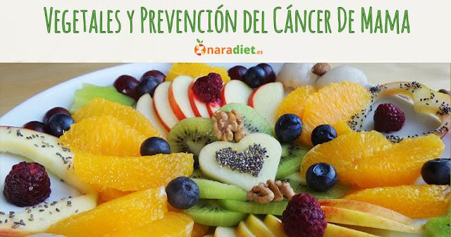 Vegetales y Prevención del Cáncer de Mama