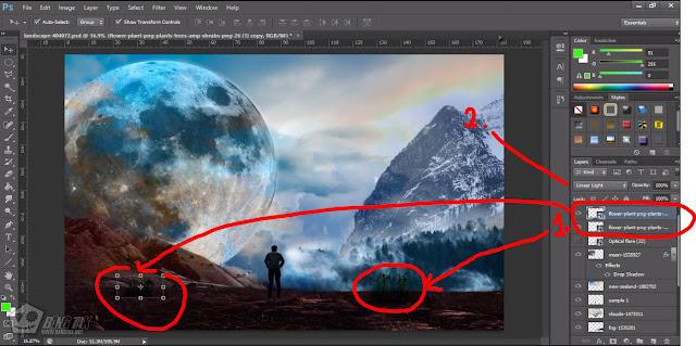 Cara Manipulasi Foto Di Photoshop Lengkap Dengan Penjelasan Dan Gambar Part 2