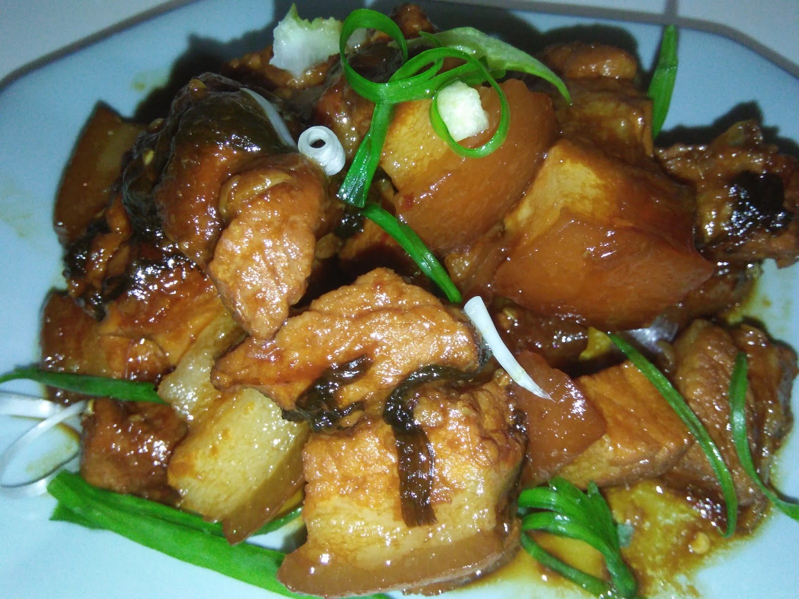 Cooking pleasure chinese styled glazed pork belly my mother in law wasnt eating well at all with hospital food after surgery she has to be on soft diet and the main meals provided by the hospital for days forumfinder Image collections