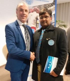 इटली मैं विश्व किकबॉक्सिंग महासंघ' संतोष कुमार अग्रवाल ने भाग लिया