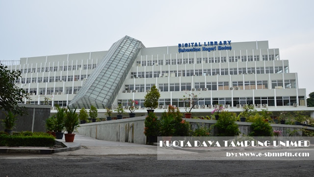 Universitas Negeri Medan yaitu salah satu Perguruan Tinggi Negeri yg terletak di Sumatera Utara DAYA TAMPUNG UNIMED 2019/2018
