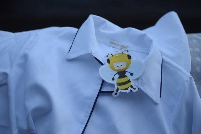 Mad Scientist lab coat costume from Pretend to Bee