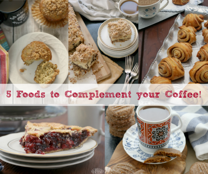 5 Foods to Complement Your Coffee