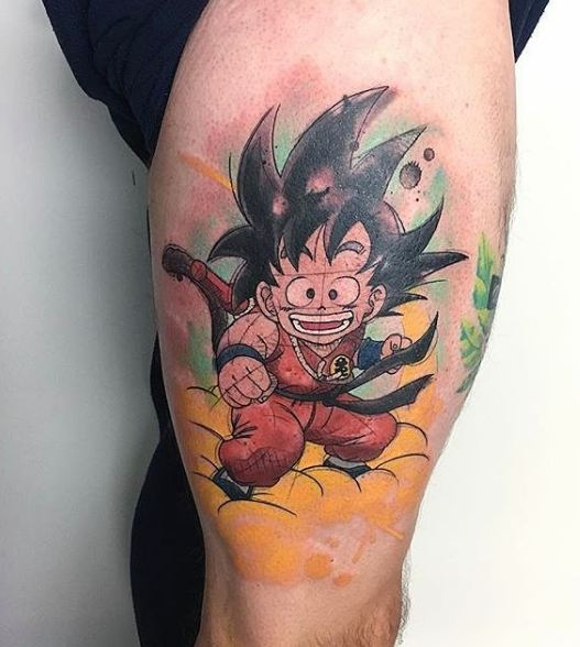 Anime Tattoos
