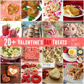 20+ Valentine's Day Treats...both salty and sweet! (sweetandsavoryfood.com)
